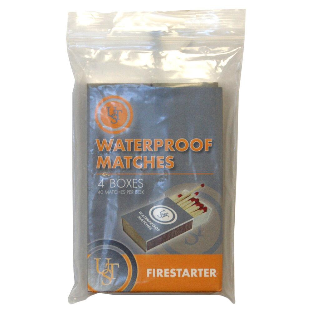 Waterproof Matches 4-pk