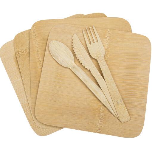Bamboo Dinner Set